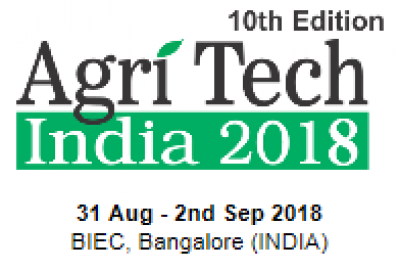 The 10th AgriTech India 2018 2018 8 31 2018 9 2