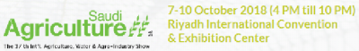 2018 Saudi Agricultural Exhibition 2018 10 7 2018 10 10