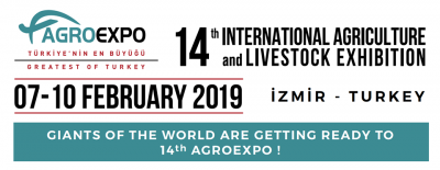 Agroexpo International Agriculture and Livestock Fair in Izmir Turkey 2019 2 07 2019 2 10