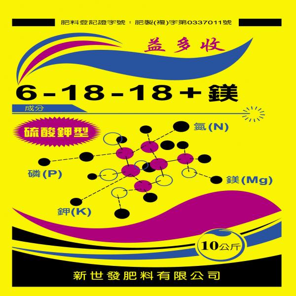 YI DUO SHOU NPK6 18 18 4.3 MgO